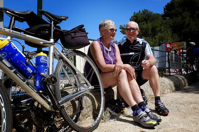 Vi startede cykelsæsonen med 14 dage og 1400 kilometer på Mallorca.