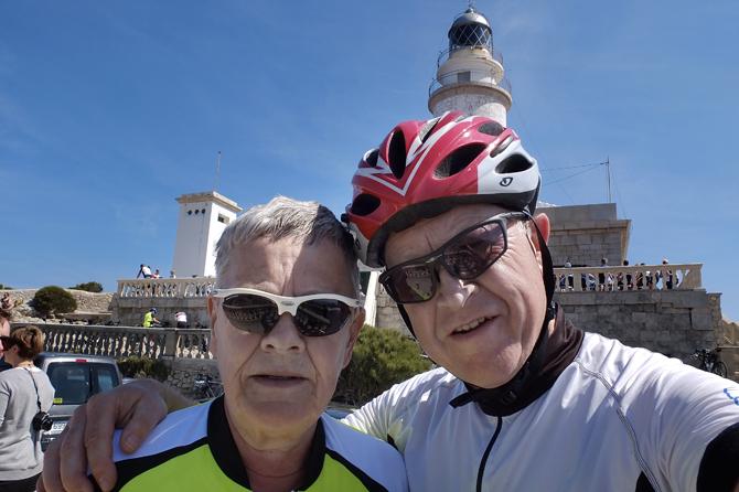 Cykelsæsonen startede også i 2015 på Mallorca. Vi cyklede 1400 kilometer og havde 14 gode varme dage.